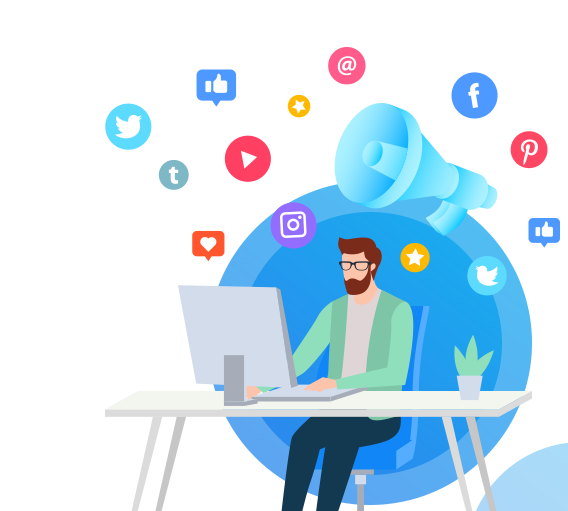 6 Social Media Advantages for businesses - Web Design & Development